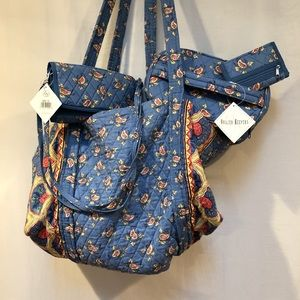 Vera Bradley (Quilted Keepers) travel Set 5 Pieces